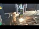 500W 1325 economic fiber laser cutting machine cut 1MM Stainless Steel