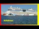AIDAMAR 2014 HD SHIP TOUR SCHIFFSRUNDGANG SCHIFFSBESICHTIGUNG