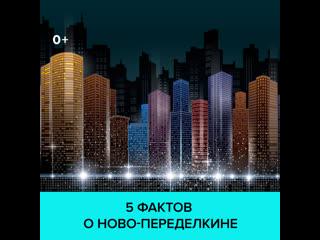5 интересных фактов о Ново-Переделкине  Москва 24
