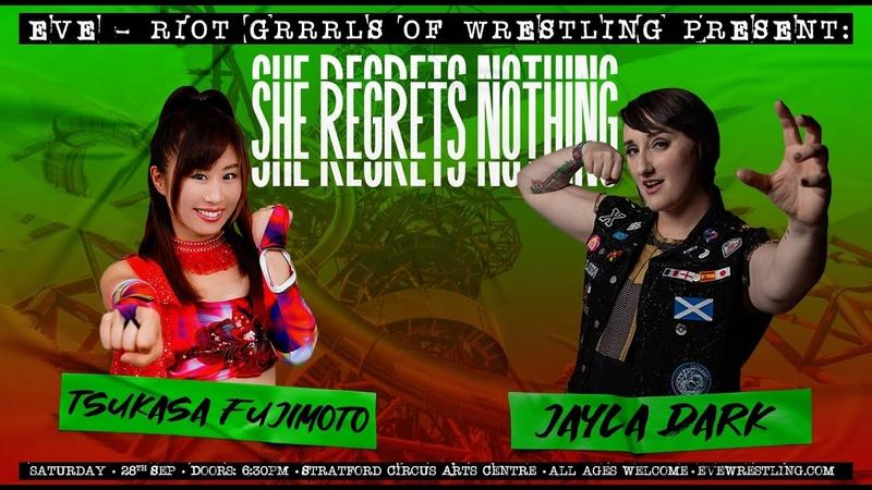 My1 SHE REGRETS NOTHING Tsukasa Fujimoto vs Jayla Dark Retirement Match