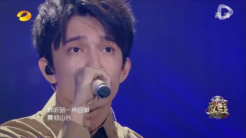 8 тур Димаш Кудайбергенов исполнил песню на китайском языке, с перевод на русский язык