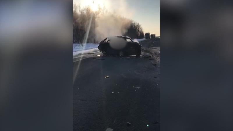 Смертельное ДТП на трассе Екатеринбург Курган