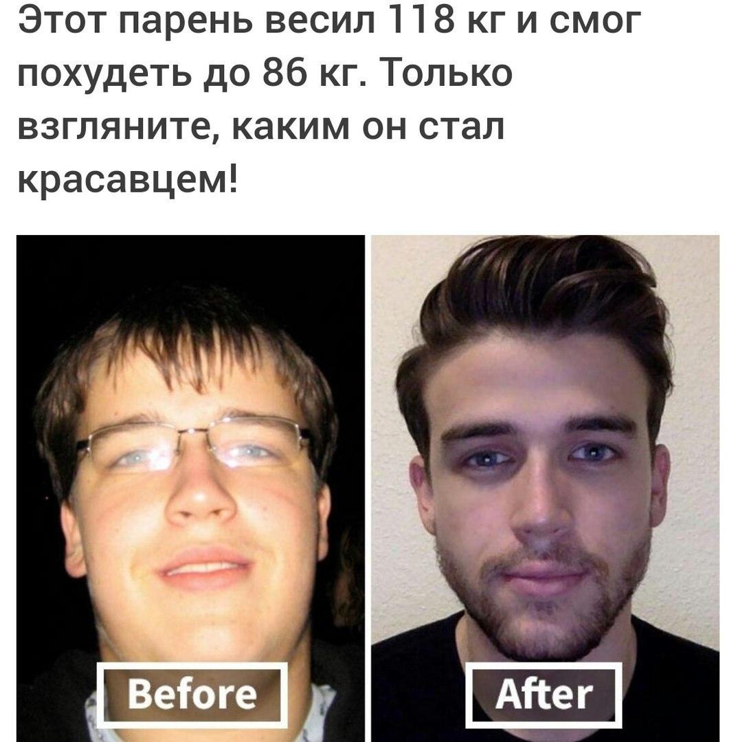 Как же лишний вес влияет на внешность