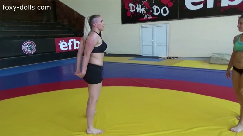 Amrita Wrestler Gaby Lift and Carry
