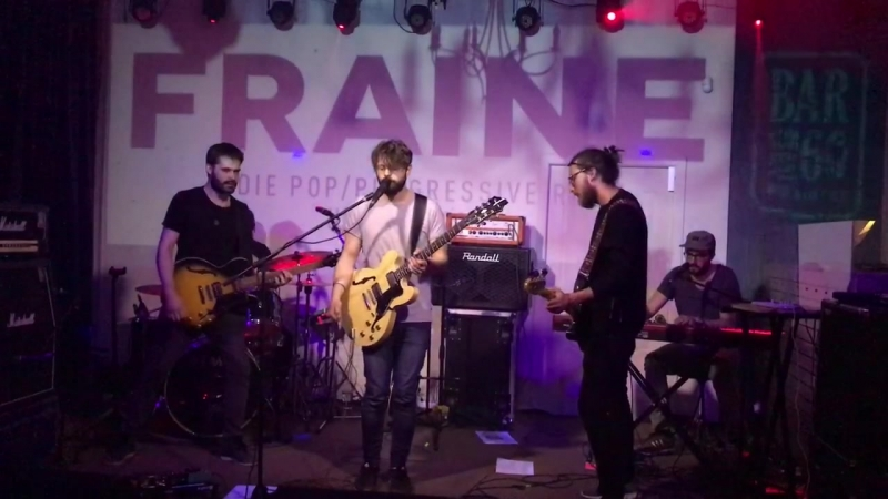 Fraine - Talk to Ghosts (live in Penza @ Bar60 MusicCoctails)