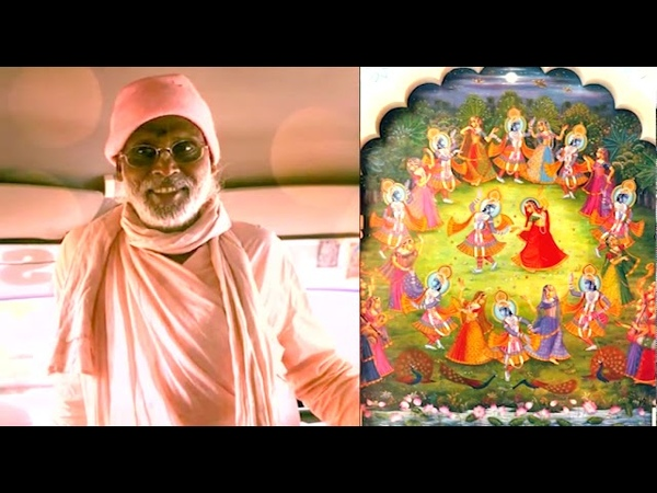 Радха Наче Кришна Наче