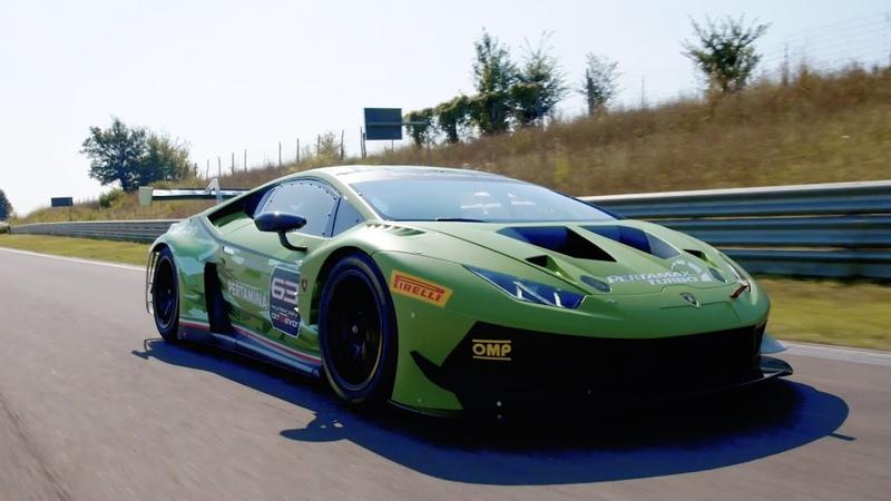 Lamborghini Squadra Corse a closer look inside the Motorsports world