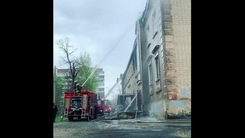Пожар в Славянске - 26.04.2020
