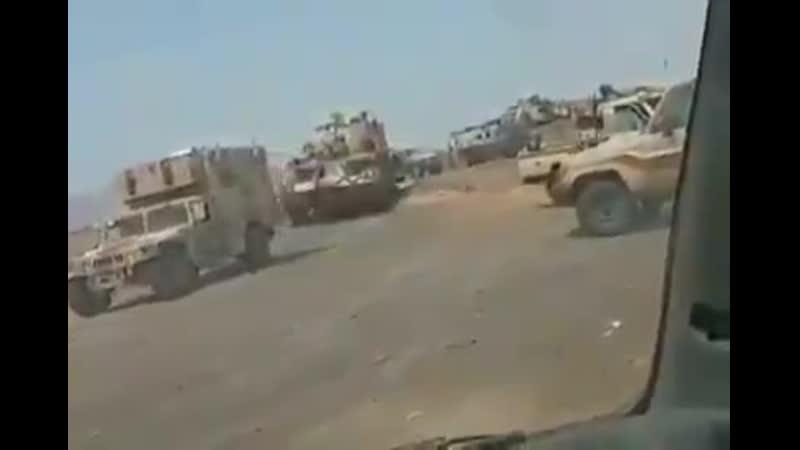 عاجل تعزيزات كبيرة من الجيش الوطني تصل في هذه اللحظات وتدخل خط الموجه لتحرير زنجبار جنوب اليمن
