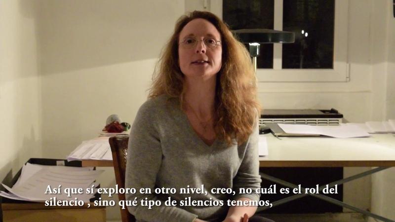 EntrevistaInterview Rebecca Saunders - Bertrand Chavarria-Aldrete