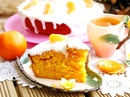 Морковно-мандариновый пирог