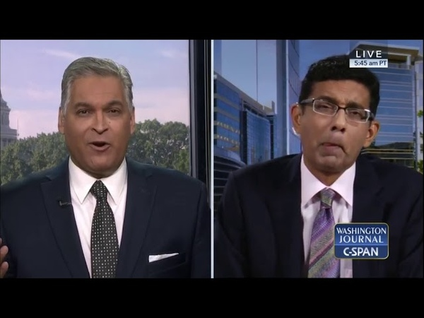 Dinesh D'Souza - Why Trump Pardoned Me