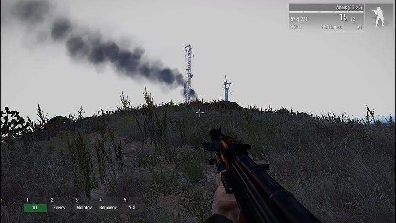 Войска РФ высаживаются на Алтис в Arma 3