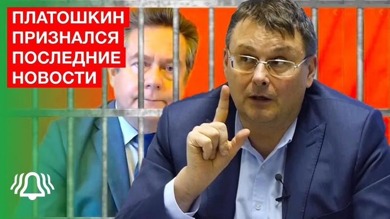 Платошкин признал вину Евгений Федоров о Платошкине Последние новости БЕЛРУСИНФО 2020