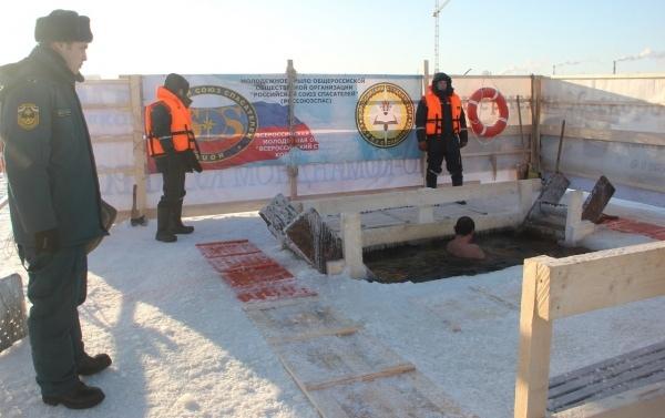 Спасатели Марий Эл рассказали, где можно купаться на Крещение