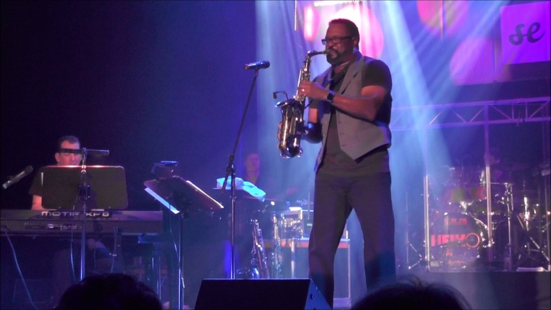 What's Going On Everette Harp w Jeff Lorber at 6 Augsburg Smooth Jazz Festival 2015
