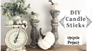 DIY Candlesticks | Upcycle Project