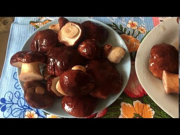 Жарим белые грибы старый Сибирский рецепт