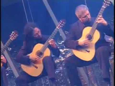 Quaternaglia Guitar Quartet A Furiosa by Paulo Bellinati Programa do Jô 2006