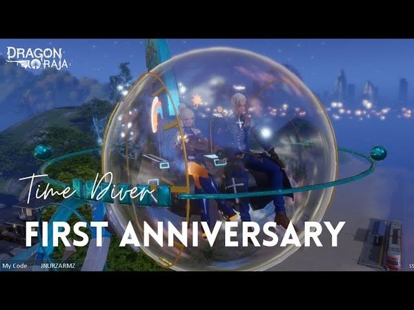 Dragon Raja 1st Anniversary Motor Gift Time Diver