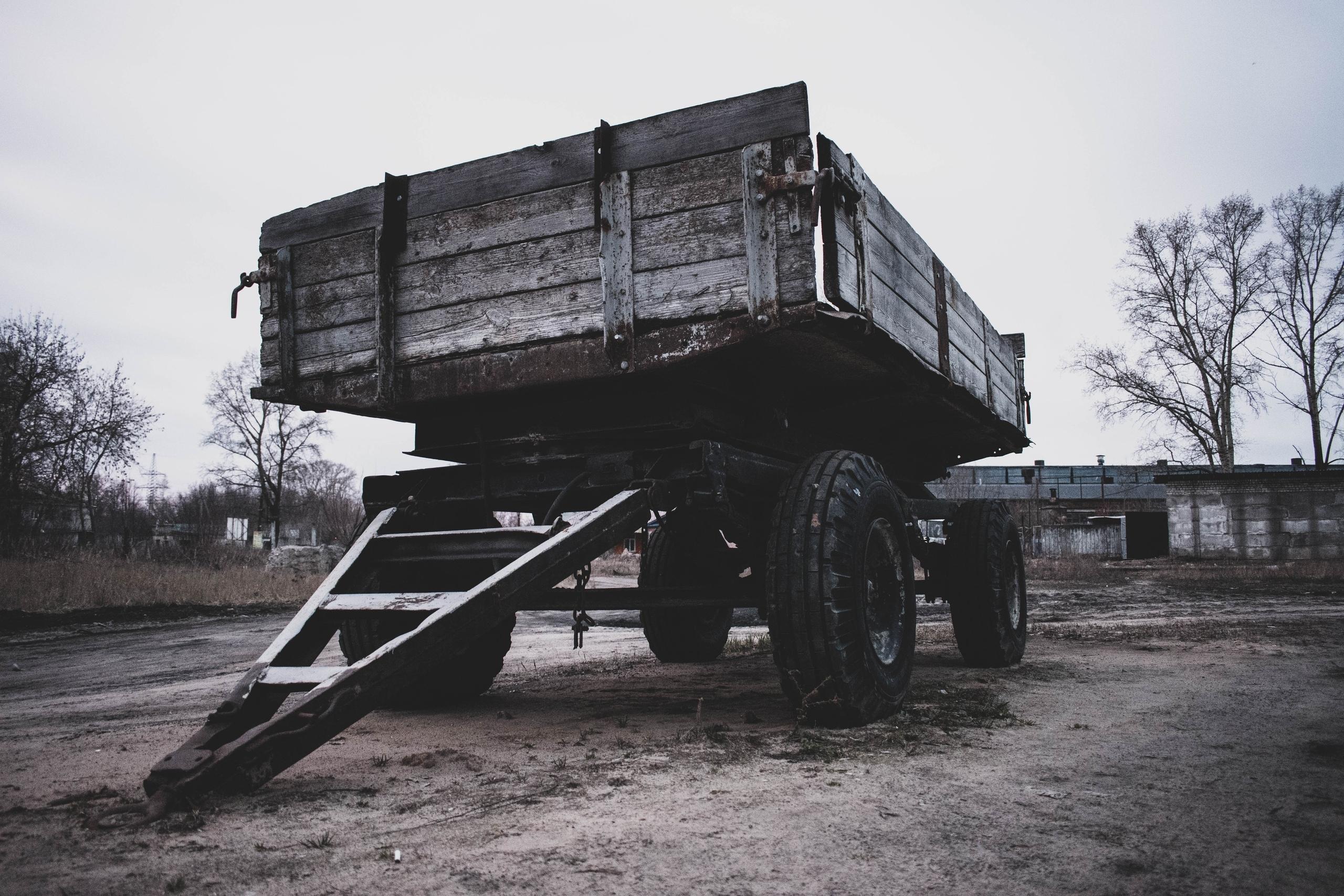 Немного брошенных колес