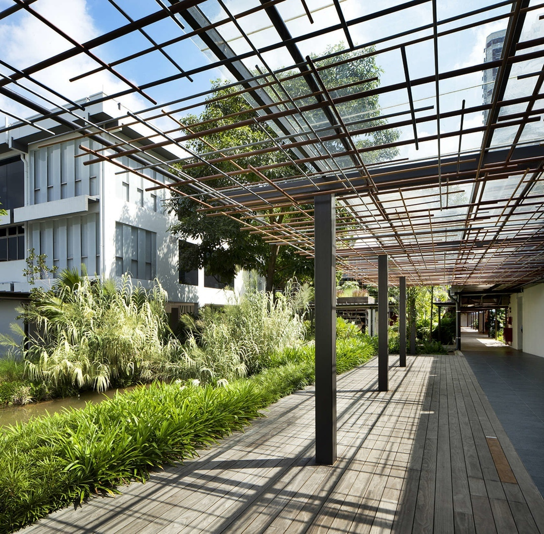 Enabling Village in Singapore by WOHA