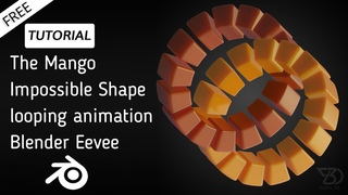 Mango The Impossible Shape | Animation Tutorial | Blender Eevee