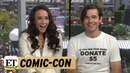 Comic Con 2018 The Magicians Jason Ralph Stella Maeve Think There Should Be More Magic