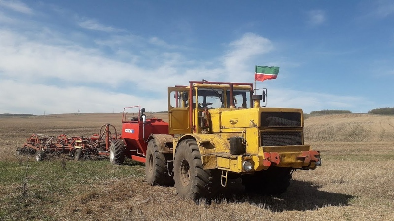 Посев пшеницы Т-150К Agrator 5400 К-700А Agrator 7300