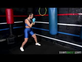 Lilly Hall - Kickboxing [All Sex, Hardcore, Blowjob, Gonzo]