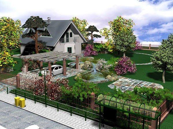 Планировка дачного участка. Советы. Первым делом необходимо определится с тем, какие постройки в саду будут находиться на дачном участке, и какие функции они будут выполнять. Стандартная