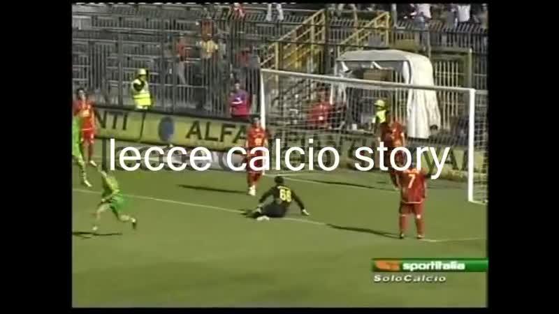 Гол Виктора Будянского за итальянский Лечче в Серии Б сезона 2007 2008