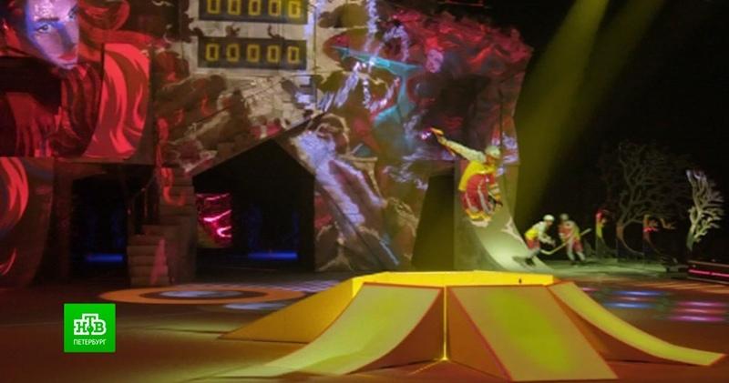 Цирк Солнца удивит петербуржцев ледовым шоу с акробатами и фристайлом