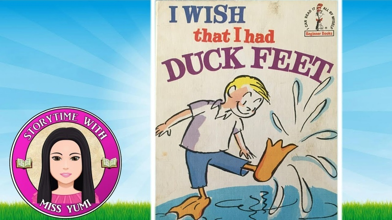 I Wish That I Had Duck Feet by Dr Seuss Stories for Kids Children's Books Read Along Aloud