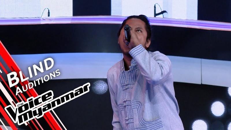 Novem Htoo Spit It Out Slipknot Blind Audition The Voice Myanmar 2019