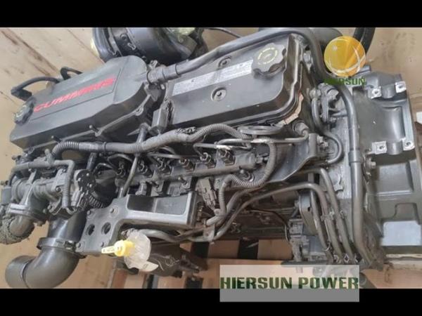 QSB6 7 Cummins Diesel Engine 164KW 220HP Tier4i Cummins Engine Hiersun Power
