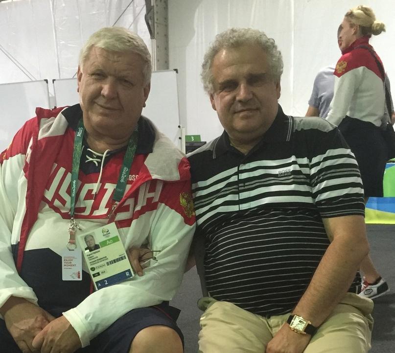 Евгений Трефилов и Сергей Приголовкин