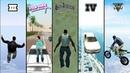 Falling from SKY in GTA games! (GTA 3 vs VC vs SA vs IV vs V)