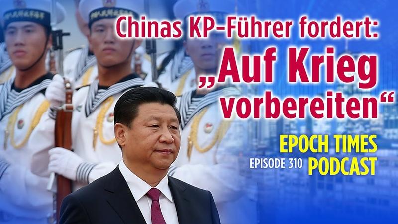 """Xi Jinping bereitet Soldaten auf den Krieg vor """"Weder Leiden noch Tod fürchten"""