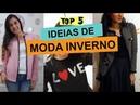 TOP 5 IDEIAS DE CUSTOMIZAÇÃO MODA INVERNO Customizando Mariely Del Rey