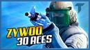 ZYWOO TOP-30 ACES   CSGO - Best moments of zywoo