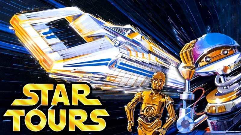 Yesterworld: A Star Tours Story The History of Disney s Abandoned Star Wars Attraction