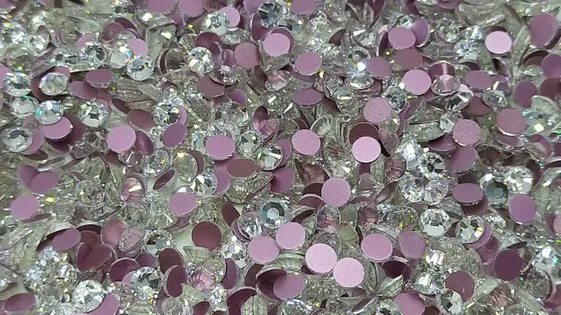 Имитация Сваровски улучшенное качество Холодная фикс Crystal
