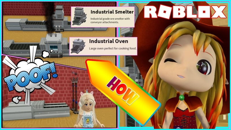 ⚒️ How to make AUTO totem collector INDUSTRIAL SMELTER and INDUSTRIAL OVEN Roblox Sky Block