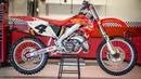 Ricky Carmichael's Championship Honda CR250 2 Stroke Motocross Action Magazine