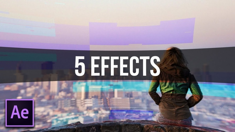 5 FAST Effects That You Should Use in After Effects