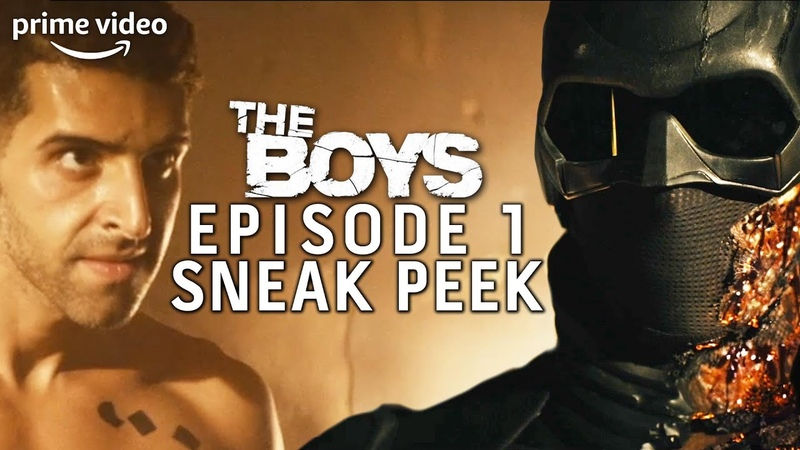 The Boys Season 2 First Episode Sneak Peak Prime Video