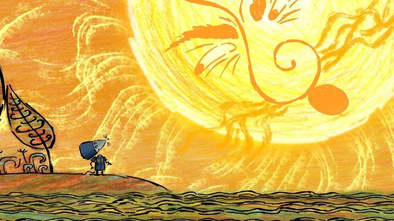 Гора самоцветов Гордый мыш Proud mouse Осетинская сказка