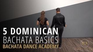 Dominican Bachata Footwork & Partnerwork - Demetrio & Nicole [Bachata Dance Academy]