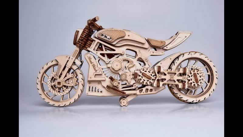 DMS bike mechanical model